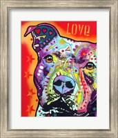 Thoughtful Pitbull 2 Fine-Art Print