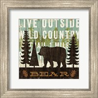 Simple Living Bear Fine-Art Print