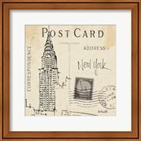 Postcard Sketches I Fine-Art Print