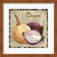 Vegetables 1 Onions Fine-Art Print