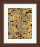 Gilded Stone Gold I Fine-Art Print