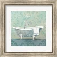 Damask Bath Tub Fine-Art Print