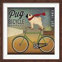 Pug on a Bike Fine-Art Print