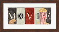 Movie Cinema Signs I Fine-Art Print