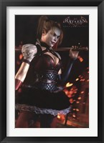 Arkham Knight - Harley Wall Poster
