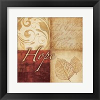 Red Gold Hope III Fine-Art Print