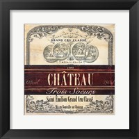 Grand Vin Wine Label II Fine-Art Print