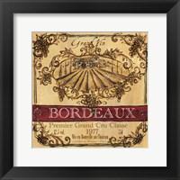 Grand Vin Wine Label III Fine-Art Print