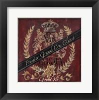 Grand Vin Wine Label IV Fine-Art Print