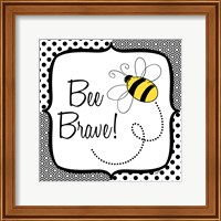 Be Happy and Brave II Fine-Art Print