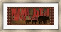 Don't Feed Mama Bear I Fine-Art Print
