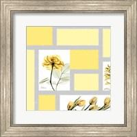Mondrian Flowers 1 Fine-Art Print