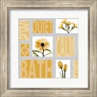 Mondrian Flowers 4 Fine-Art Print