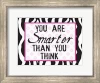 Much Smarter Zebra Fine-Art Print