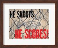 He Shoots Fine-Art Print