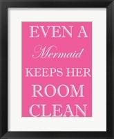 Mermaid Clean Room Fine-Art Print