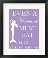 Mermaid Must Eat Fine-Art Print