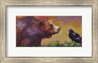 Bear and Birds Fine-Art Print