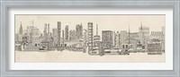 Neutral City Sounds Fine-Art Print