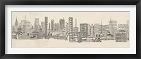 Neutral City Sounds Fine-Art Print