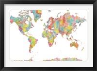World Map 1 Fine-Art Print
