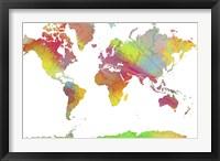 World Map 6 Fine-Art Print