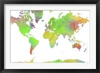 World Map 7 Fine-Art Print