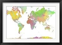 World Map 8 Fine-Art Print