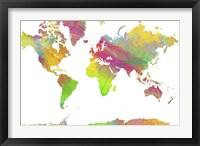 World Map 9 Fine-Art Print