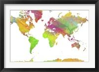 World Map 10 Fine-Art Print