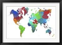 World Map 16 Fine-Art Print