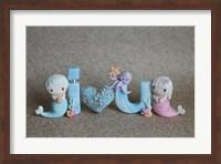 Mermaids I Love You Fine-Art Print