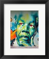 Graffiti de Mandela Fine-Art Print