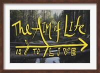 Aim of Life Fine-Art Print