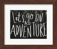Let's Go On An Adventure Fine-Art Print