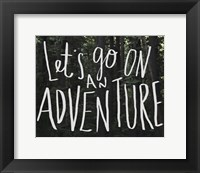 Let's Go On An Adventure Fine-Art Print