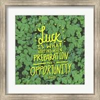Luck Seneca Fine-Art Print