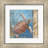 Turtle and Sea Fine-Art Print