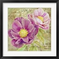 Peony Garden II Fine-Art Print