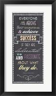 Achieve Success - Nelson Mandela Quote Fine-Art Print