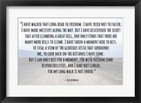 Road to Freedom - Nelson Mandela Quote Fine-Art Print