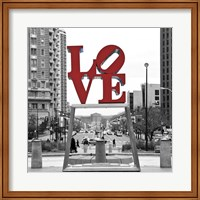 LOVE (Black, White, Red) Fine-Art Print
