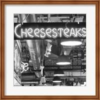 Cheesesteaks  (b/w) Fine-Art Print