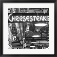 Cheesesteaks  (b/w) Fine-Art Print