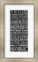 Today is the Day 1 Fine-Art Print