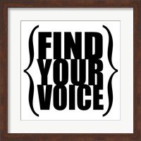 Find Your Voice 3 Fine-Art Print