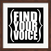 Find Your Voice 4 Fine-Art Print