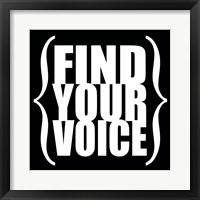 Find Your Voice 4 Fine-Art Print