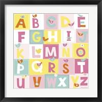 Birdie Alphabet Fine-Art Print