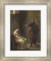 Hamlet and Ophelia Fine-Art Print